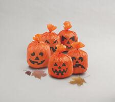 20 X Halloween Suspendu Potiron Feuille Sac Fête Décorations Accessoire Interne