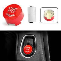 Red Start Stop Motorknopfschalter Cover Für BMW F20 F10 F01 F48 F26 F15 F16