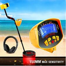 Metal Detector Gold Digger Light Hunter Finder Deep Sensitive Search Waterproof