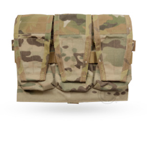 Crye Precision AVS Detachable Flap 7.62 Mag Pouch - Multicam - Holds 3 Mags