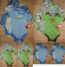 LOT de 6 BODY manche courte ETE 3 / 6 MOIS GARCON bébé BLEU / VERT bleu ou vert