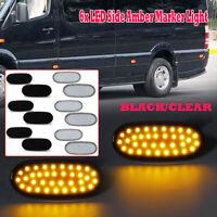 6xLED Side Marker Indicator Position Light For Mercedes Sprinter W906 VW Crafter