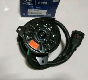 NEW Genuine 253863M280 Radiator Cooling Fan Motor for 2013-2017 Hyundai Genesis