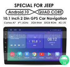 For CHRYSLER JEEP DODGE Android 10 Car Radio Bluetooth Stereo Mirror GPS 2+32GB