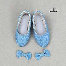MSD 1/4 BJD Shoes Dollfie DREAM snake Bow shoes EID MID DOD AOD LUTS SOOM #Blue