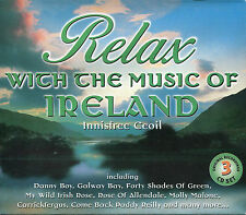 RELAX WITH THE MUSIC OF IRELAND - 3 CD BOX SET - INNISFREE CEOIL