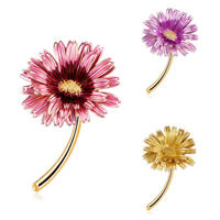 Enamel Daisy Flower Brooch Pin Collar Decor Badge Corsage Party Banquet Jewe 3C