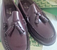 Bass Weejuns Classic Preppy Ladies Leather Tassel Loafer-NEW Never Worn 7.5