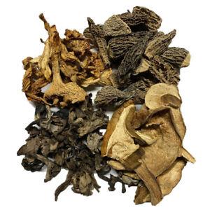 Set Tasting 1.8oz: Horns of Plenty - Ceps - Morels - Chanterelles Mushrooms