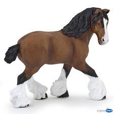 NEW PAPO 51552 Bay Shire Horse Mare