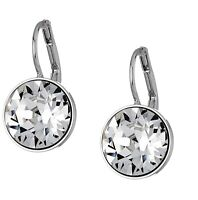 New Authentic SWAROVSKI Rhodium White Crystal Bella Drop Earrings 5085608