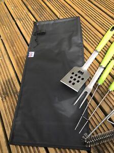 BBQ Utensil Storage Bag, Black, Barbecue Utensil Storage, BBQ Equipment Uk Made