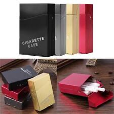 1PCS Aluminum Metal Cigar Cigarette Box Holder Tobacco Storage Case Gift New