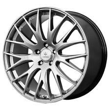 "18"" Inch Verde V27 Saga 18x8 5x114.3(5x4.5"") +38mm Dark Silver Wheel Rim"