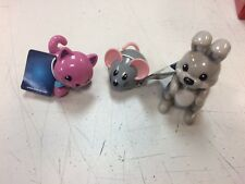 Tolo Toys Domestic Animals: Kitten, Mouse & Rabbit  New with Tags! 3 Piece Lot