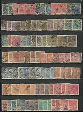 Brazil: Small Good lot of repeated, with different postmarks, used. EBBR004