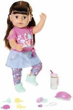 Zapf Creation Baby Born de lujo interactivo suave toque Sister 43cm Muñeca set