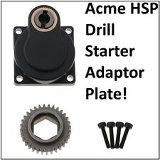 RC Car Nitro Engine Electric Pull ROTO DRILL Starter Adaptor Plate 12mm Acme HSP