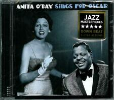 """ANITA O'DAY  """" Sings for Oscar / Pick yourself up """"  2on1 CD"""