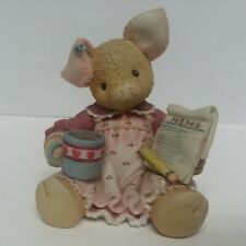 Figurine Enesco This Little Piggy Does It All 167614 1995 (Coffee & To Do List)