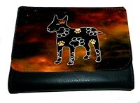 English Bull Terrier Purse Wallet Bullie Striking Design Purse Thankyou Gift