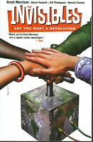 Invisibles Volume 1 Say You Want a Revolution GN Grant Morrison OOP TPB New NM