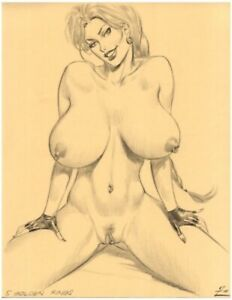 12 adult art print Julius Zimmerman Art 8.5 x 11 glossy photo paper volume 4