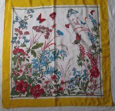 Sublime foulard  VALENTINO en soie vintage scarf - 90 cm x 89 cm
