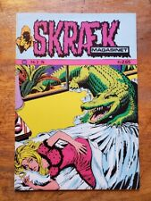 SKRAEK MAGASINET No. 2 1974 Danish Horror Comic VF Tales from the Crypt Style