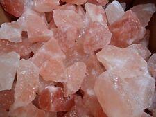 Himalayan Salt Chunks Crystals Rocks Bulk 2 lb Bag Air Purifier Negative Ions