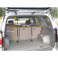 PortablePET Universal Pet Partition/ Adjustable Dog Gate Barrier Car Vehicle SUV
