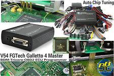 Fgtech Galletto 4 V54 Master ECU programador BDM Tricore OBD2 Chip Tuning