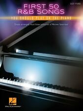 First 50 R&B Songs You Should Play on Piano Sheet Music Easy Piano 000196028