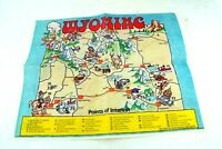 McDonalds Wyoming 1989 Events Ephemera Paper Food Tray Liner Placemat Vintage