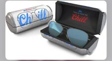 Ray-Ban RB 3025 Aviator Large Metal Coors Lt Promo Mirror Flash Blue Silver NEW