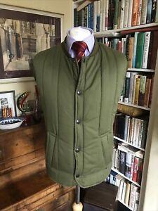 Barbour Green Trekker Waistcoat Puffer Gilet