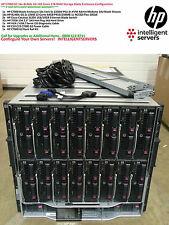 HP C7000 G2 16x HP BL460c G6 L5640 192-Cores 1TB RAM Blade Solution