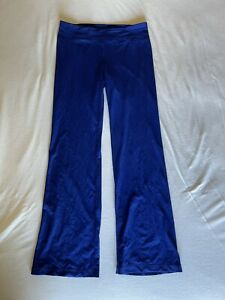 Under Armour Allseason Gear Blue Fitted Yoga Pants Flare Women's Size M