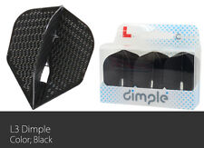 L-Style Small Standard L3d Dimple Champagne Flights - Black