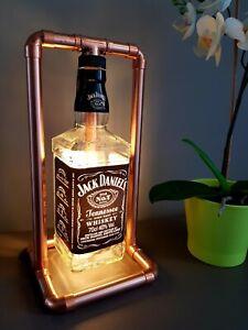 Jack Daniels Bottle Copper Retro Led Lamp 0.7