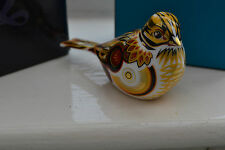 """Royal Crown Derby Paperweights  """"YELLOW HAMMER"""" 1st Quality & Original Box"""