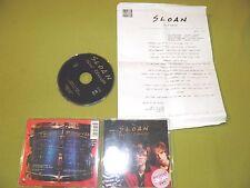 Sloan - Twice Removed - RARE Original 1994 EU IMPORT + Hebrew Israel Promo Press