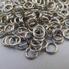 Jump Rings 6mm - 500PCs Wholesale Silver Tone 18 Gauge Open Jump Rings F3064