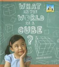 What in the World Is a Cube? (SandCastle: 3-D Shapes)-ExLibrary