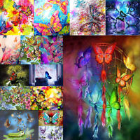Butterfly 5D Full Drill Diamond Painting Embroidery Cross Stitch Kit Home Decor