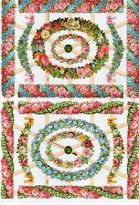 1 B.Glanzbilder Poesie Blumen Streifen Rahmen ef 7352 Nr.431