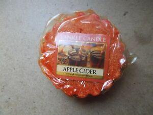 Yankee Candle Usa Rare Apple Cider Wax Tart