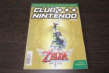 Club Nintendo Edición de 20 Aniversario Portada Zelda Skyward Sword Revista