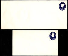 #U544 Lincoln Die 1 Stamped Envelope set/2   - MInt