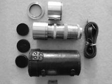 13.5cm f3.5 NIKKOR-Q LENS WITH EXAKTA MOUNT. Recent service - a rare lens.